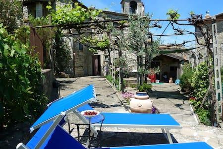 Een speciale plek voor 2 in Umbrië - Acqualoreto