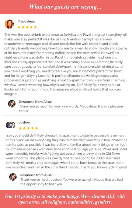 Meeting amazing people every day. ♥️ P.S. Don't forget to check out the rest of our 5-star reviews below.