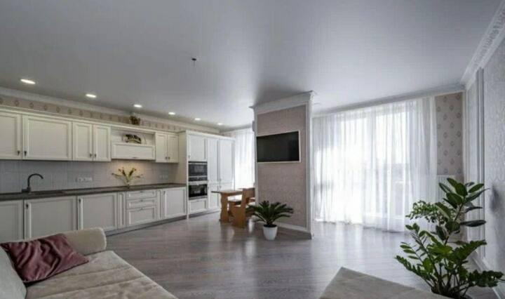 Апартаменты с красивым видом и стильным дизайном