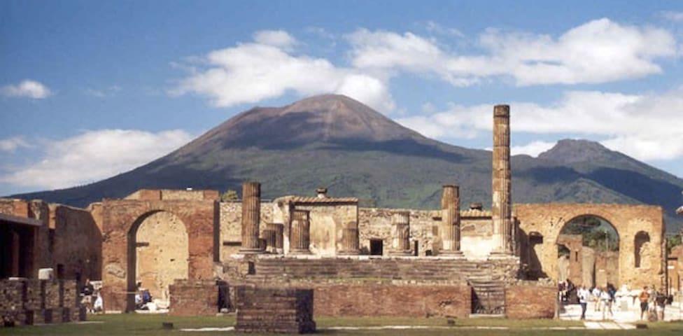 Pompei Ruins, Vesuvio,Capri,Naples - Pompei - House