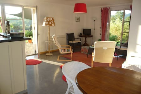 Splendide vue Pyrénées, Rez de jardin, 2 chambres - saint girons - Other