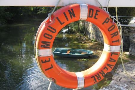 Superbes chambres  au bord de l'eau - Aslonnes - Wikt i opierunek