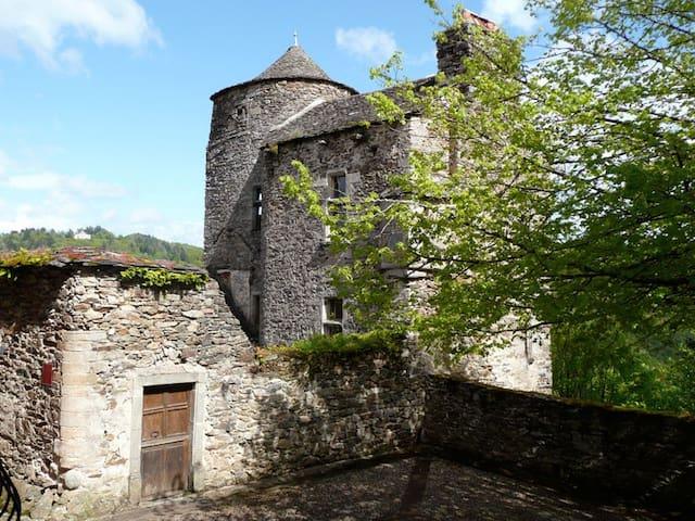 13th century tower house - Najac - Casa