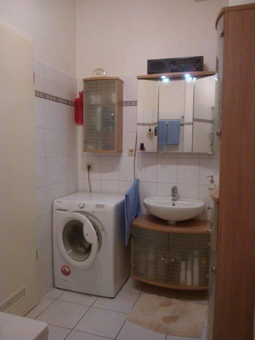 Waschmaschine, Fön