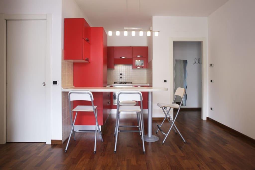 Open-plant kitchen