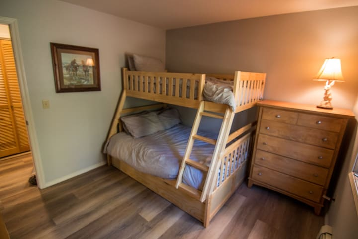 Bedroom #2 Bunk Bed - Twin bed, Full Bed and Twin Trundle