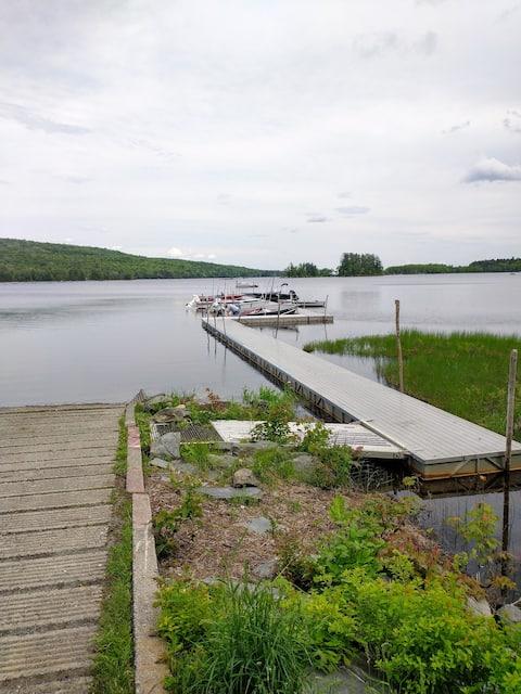 Maine Lake Cabin