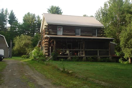 Adirondack Getaway on 11 acres - Wells