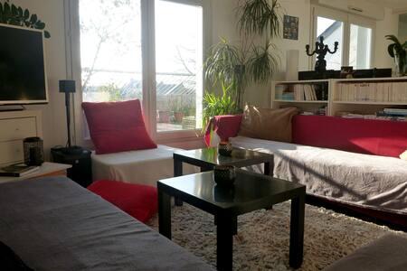 Bel appartement lumineux avec grande terrasse - Nantes