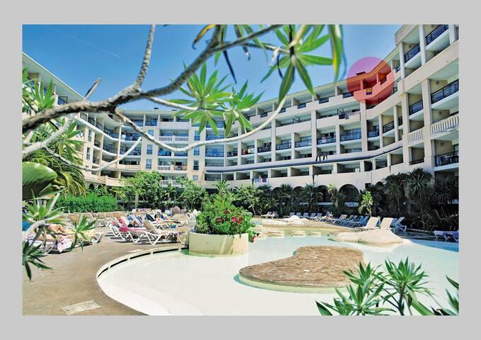 Cannes au bord de mer dernier étage - Cannes - Apartment