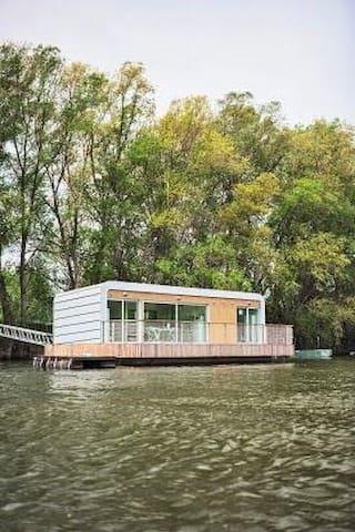 Houseboat in Komárno