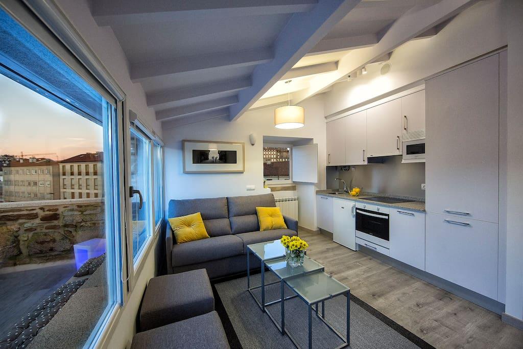 Apartamento morpheo pure indulgence apartamentos en alquiler en santiago de compostela - Apartamento santiago de compostela ...