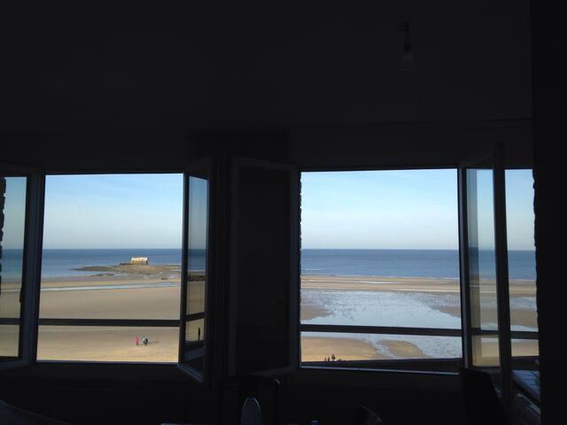 1st Floor Sea front WIFI Le portel