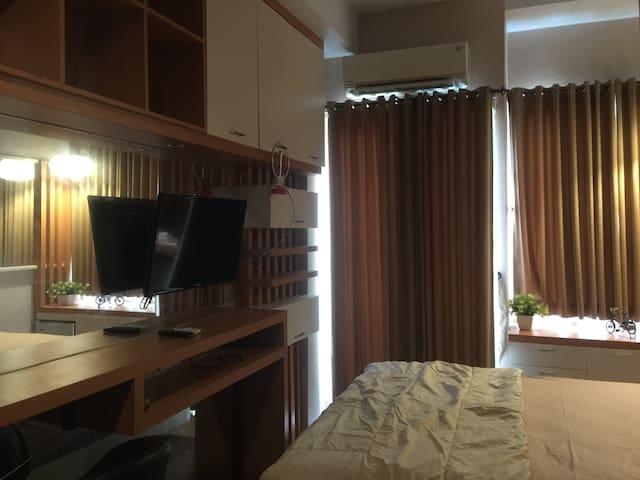 Disewakan tipe studio city view lantai 1