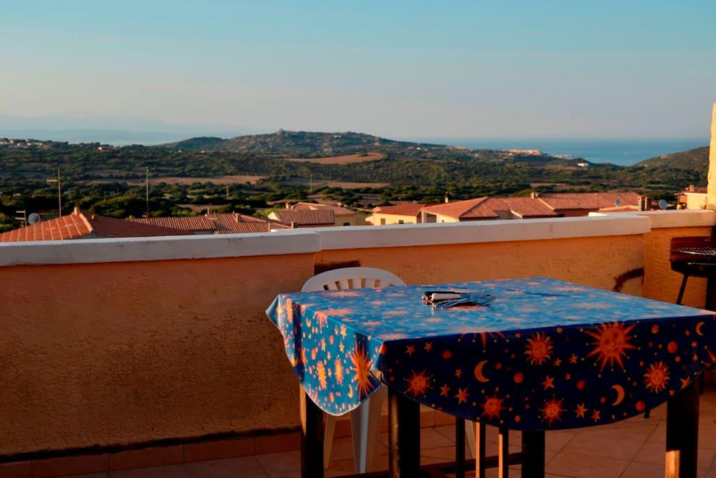 Terrazzo vista mare panoramica