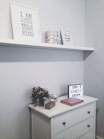 Gemütliche 1-Zimmer-Wohnung im Herzen der Neustadt - Brema - Apartament