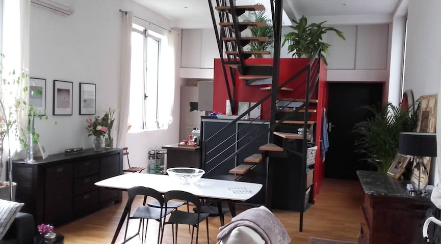 Loft near Lille - Perfect for Euro 2016 - Roubaix - Appartement