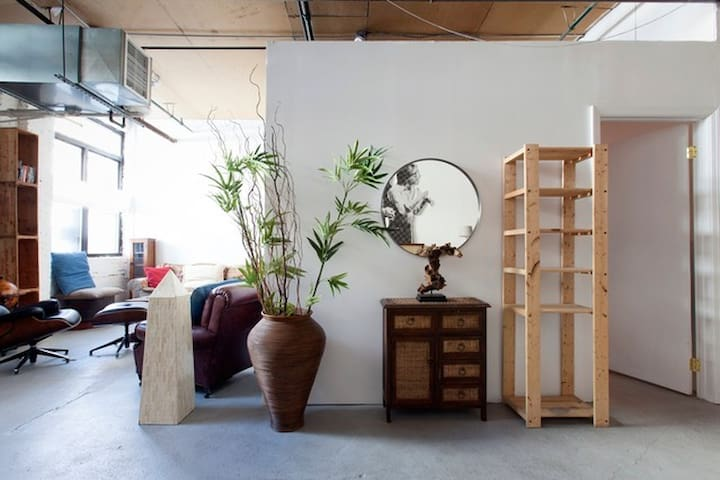 Beautiful, Artsy and Sun Drenched Greenpoint Loft - Brooklyn - Loft