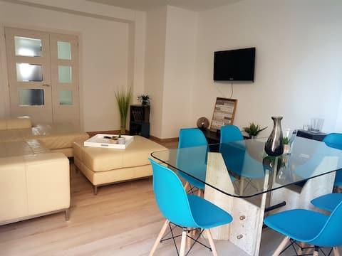Nette Wohnung, ausgezeichnete Lage in Gandia Stadt