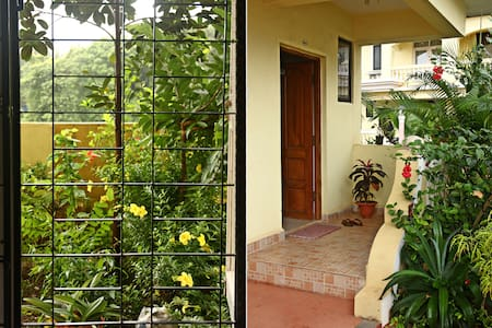 Row Villa w/pool & 750m to Seashore - Goa del sur - Villa
