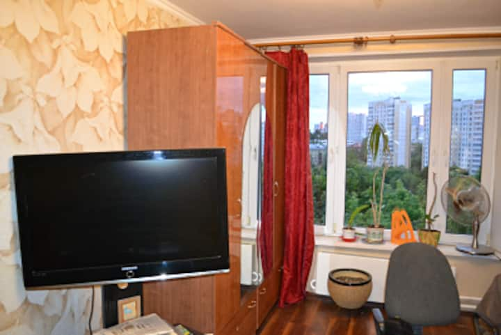 Cozy flat in the good area for World Cup 2018