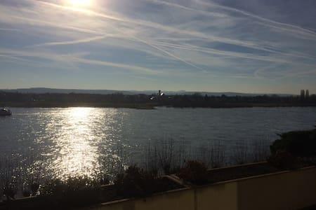 Koblenz/Neuwied - Rheinblick - Neuwied
