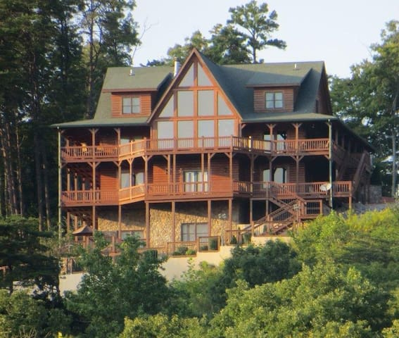 Look-Out Lodge on Lake Cumberland - Nancy - Rumah