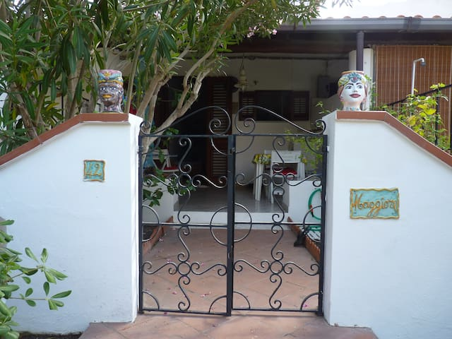 Studio flat at Vulcano island.