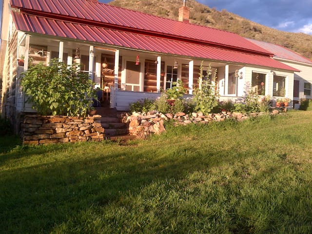 In Savery Historic Ranch House and Barn