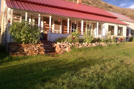 Historic Ranch House and Barn  - House