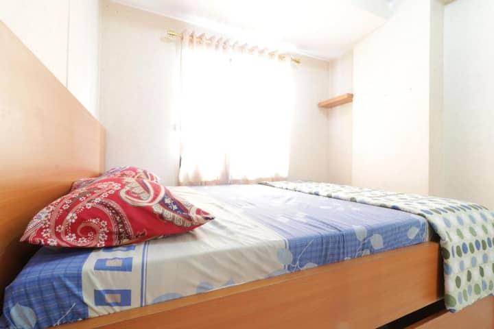 Cozy 2 bed room at Jo Rooms - Apartemen Betos