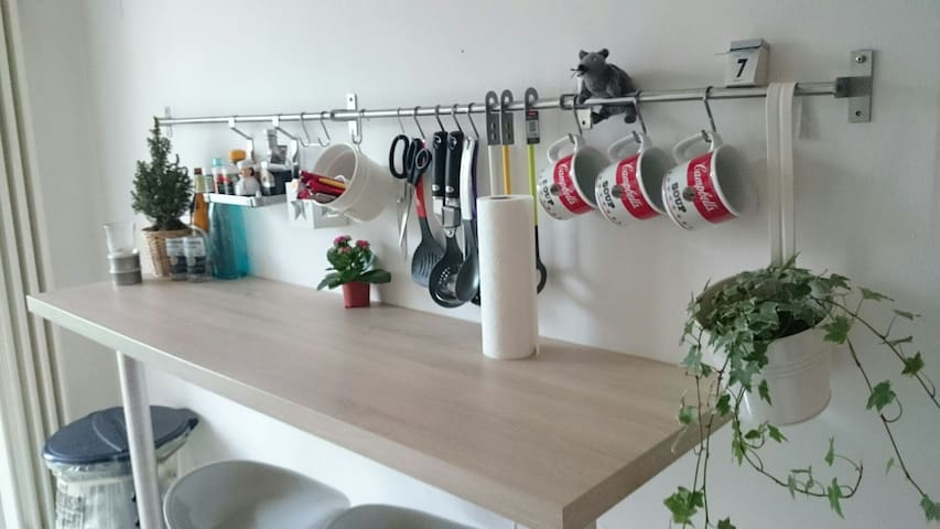 Gemütliche Wohnung mit Balkon - Saarbrücken - Appartement