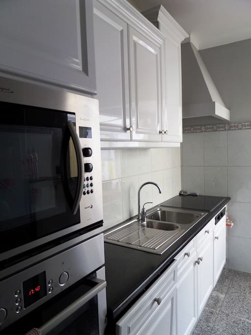 Modern kitchen, in case you need to prepare some food