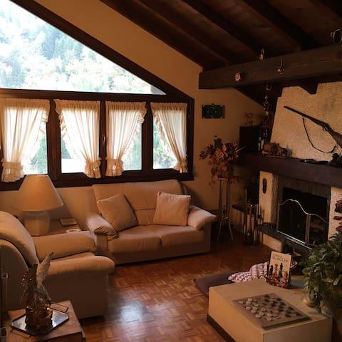 Mansarda Attico per vacanze in montagna_Collio VT