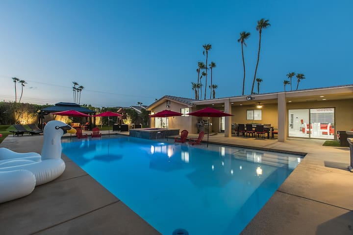 The Cibola Resort | PALM SPRINGS 5BR/3BA