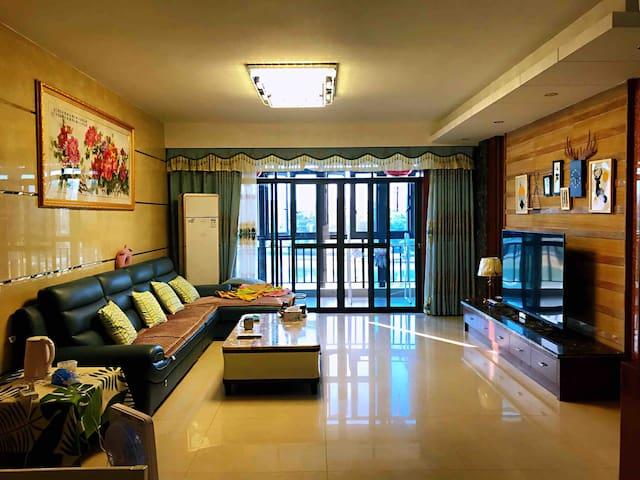 [温馨民宿]河源亚洲第一高喷泉 太平古街 休闲购物