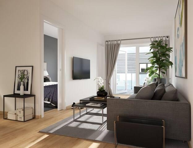 Brand new modern apartment in Sandvika