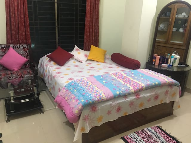 Highly Secured apartment at Bashundhara R/A