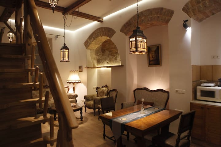 Medieval apartment in old town