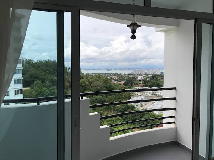 Penang Island, En suite 3 mins from USM