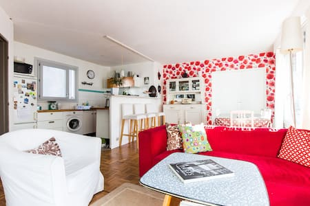 Room for one person near Montmartre - Paris - Wohnung