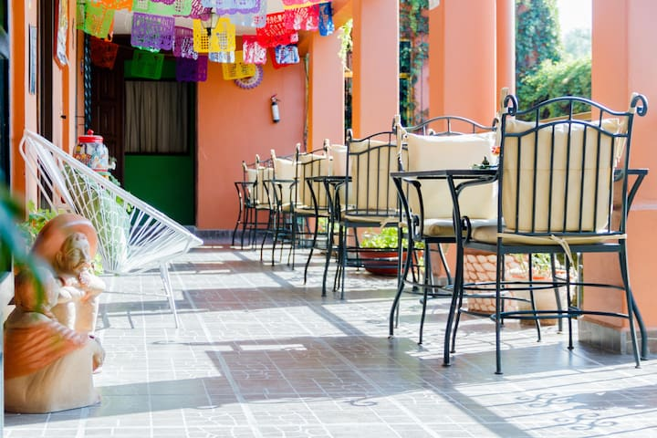 Habitación Privada en una Bella y Céntrica Posada - Oaxaca - Bed & Breakfast