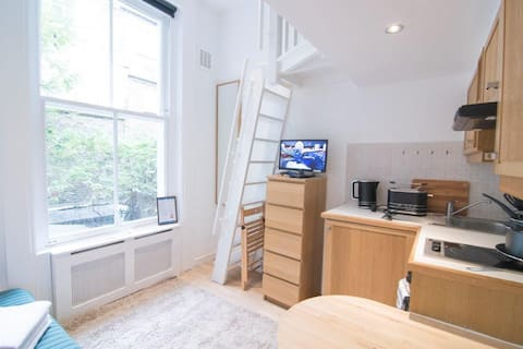 Central london apartment with mezanine
