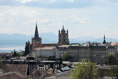 Quiet and beautiful apartment in Lausanne center! - ローザンヌ - アパート