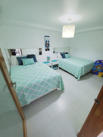 Guest Room with 2 Full Size Beds