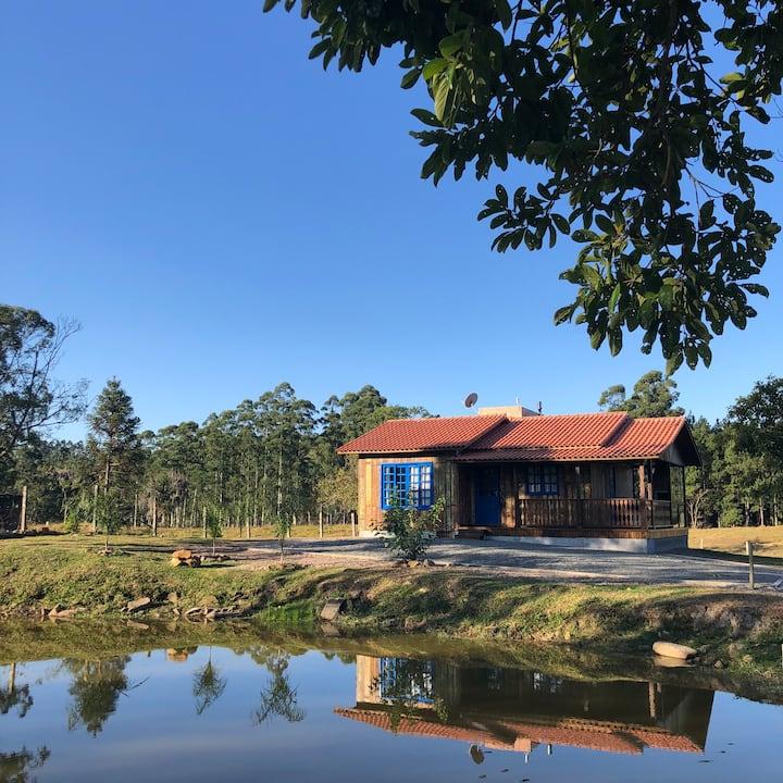Pousada Costão da Serra Casas de Campo Casa azul