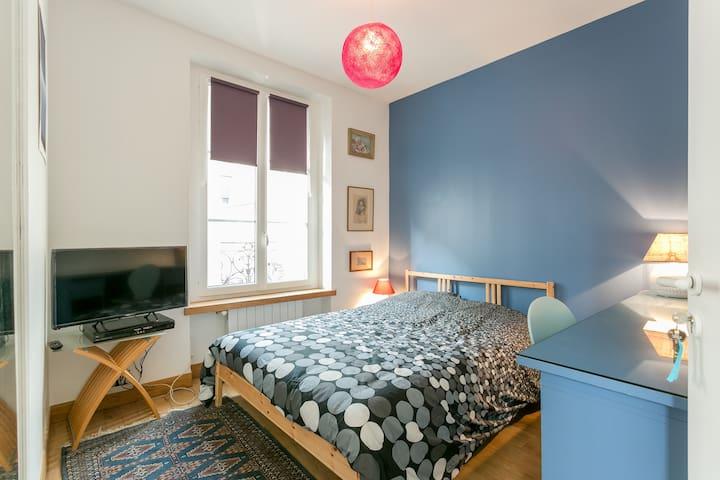 Nice 2-room apartment located in a quiet part of central Paris