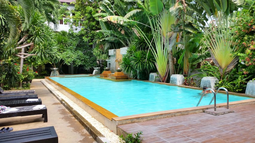 Studio Family Pool 100m to Beach C - Ko Samui - Bed & Breakfast