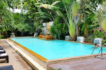Studio Family Pool 100m to Beach C - Ko Samui
