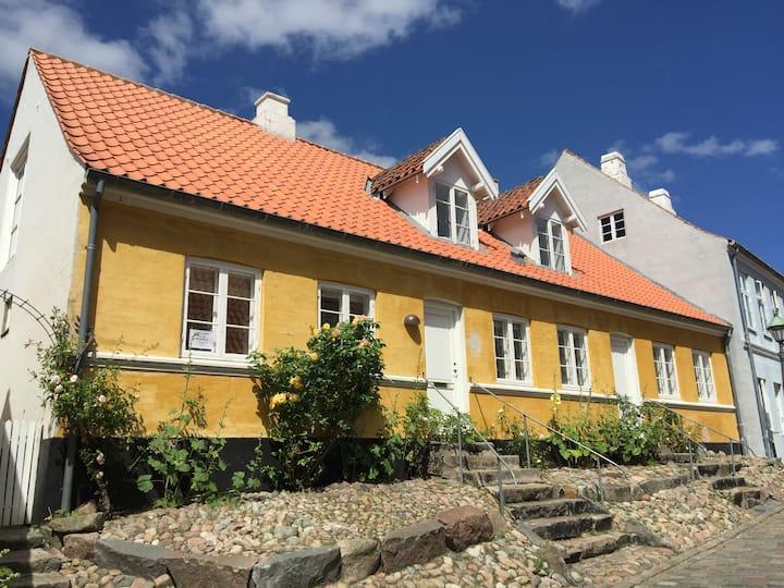 Hyggeligt byhus og have midt i det gamle Ebeltoft